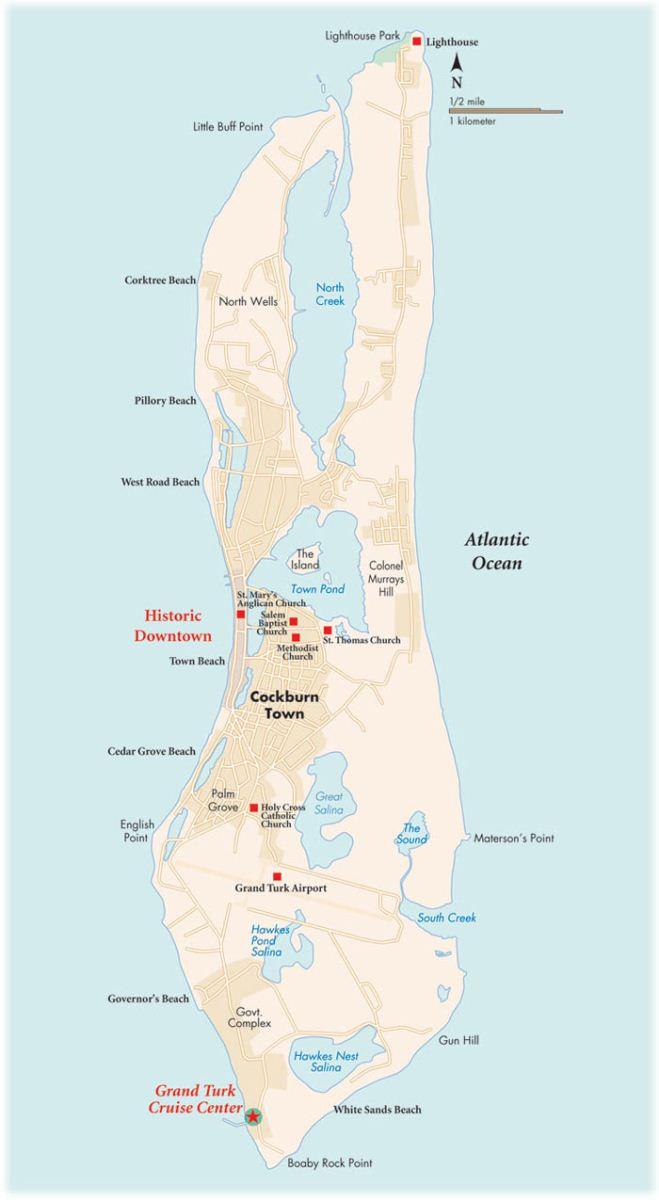 Grand Turk Island Map